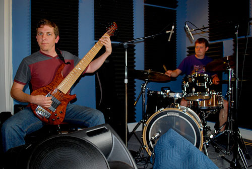Tommy Sciple and Colin Davis of Groovesect