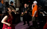 King James & The Special Men at BJ's Lounge. Photo by Ryan Hodgson-Rigsbee.