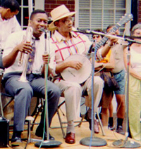 photo of Kermit Ruffins and Danny Barker