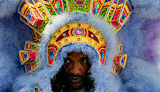 Big Chief Darryl Montana of the Yellow Pocahontas