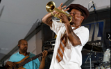 Kermit Ruffins and the Barbecue Swingers. by Ryan Hodgson-Rigsbee (rhrphoto.com)