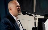 Matt Lemmler at WWOZ. Photo by rhrphoto.com