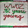 WWOZ 32nd anniversary cake