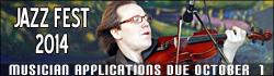 Jazz Fest Musician Applications