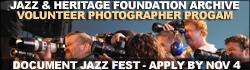 Jazz Fest Photo Volunteers