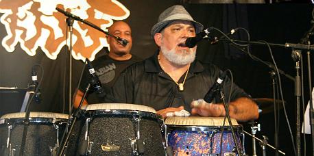 Poncho Sanchez at Jazz Fest