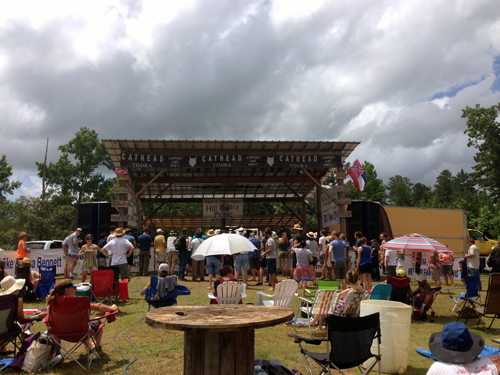 Picnic stage
