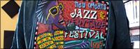 Vintage Jazz Fest tee shirt