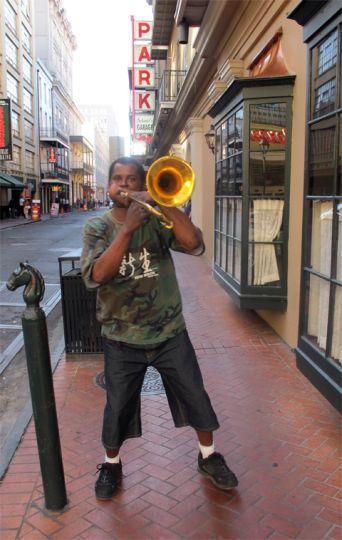 Wolf on Trombone
