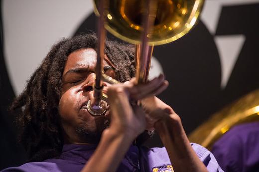 Edna Karr High School Brass Band