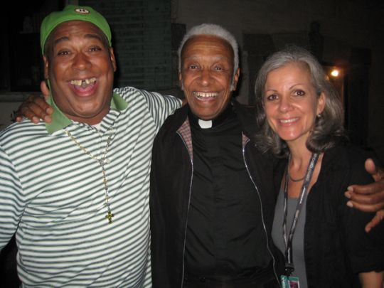 Shannon Powell, Father Jerome LeDoux & Sally Young