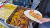 Shrimp boil from Shaggy's Boil Inc. Seafood & Catering. Photo by Jennifer Leslie