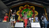 Big Freedia joins Soul Rebels onstage at Jazz Fest 2014 [Photo by Leon Morris]