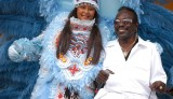 Big Chief Bo Dollis with wife Big Queen Laurita Dollis