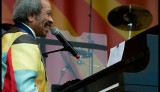 Allen Toussaint onstage at the New Orleans Jazz & Heritage Fest in 2012