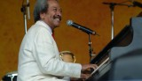 Allen Toussaint at Jazz Fest 2005 [Photo by Leon Morris]