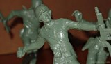 Army Men Close Up