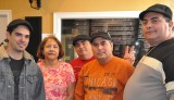 Tairo Dotorongo, WWOZ's Yolanda Estrada, Guillermo Guzman, William Medero, Jorge