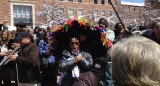 Lillian Boutte at the Roger Ebert Second Line
