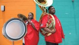 """Hot 8 Brass Band,"" a 2011 photo by Elsa Hahne and Golden G. Richard III"