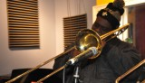 Larry Brown of Hot 8 Brass Band