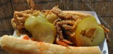 Fried Soft Shell Crab Po-Boy