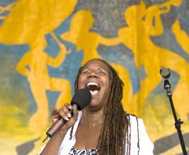 Charmaine Neville at Jazz Fest 2008