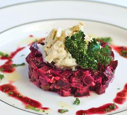 Louisiana Jumbo Lump Crab and Beet Salad