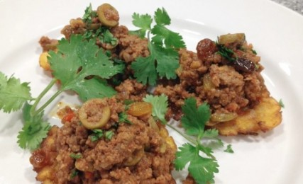 Cuban Picadillo by Chef Jack Treuting. Photo by Rouses Markets.