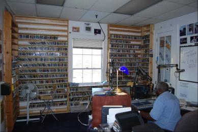 photo of the current WWOZ studio