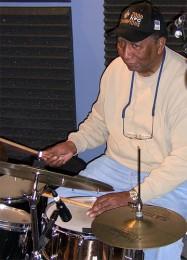 Bob French in the 'OZ studio