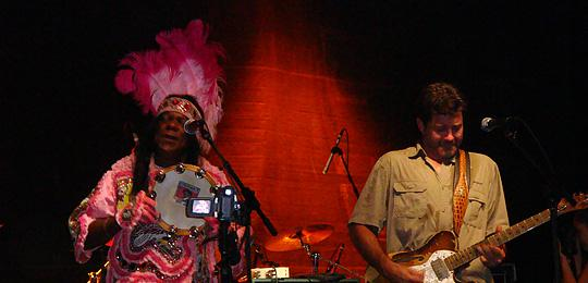 photo of Big Chief Monk Boudreaux and Tab Benoit