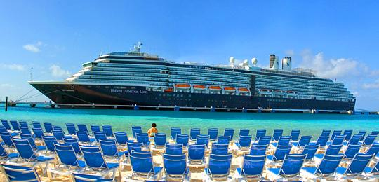 The Holland America m/s Westerdam.