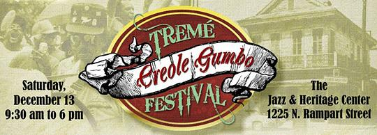 Tremé Gumbo Festival graphic