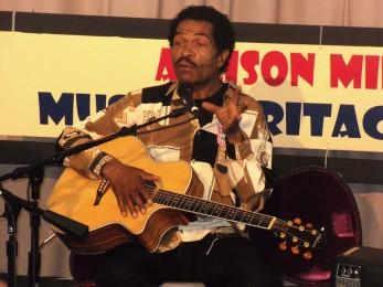 Bobby Rush Allison Miner stage