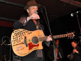 Paul Sanchez performing at 2011 My Darlin' New Orleans Treme Fundraiser