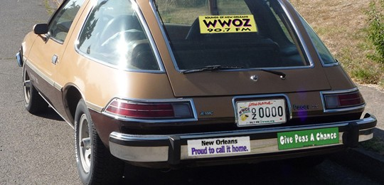 AMC Pacer, rear view