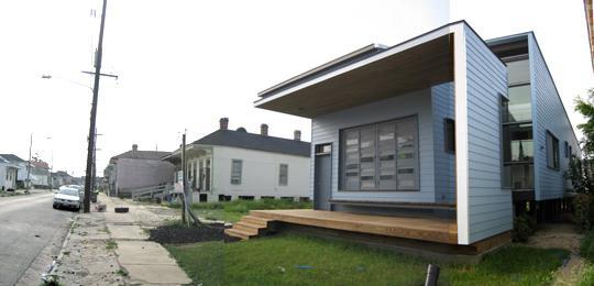 Timothy's house on Dumaine Street