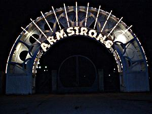 photo of Louis Armstrong Park entrance