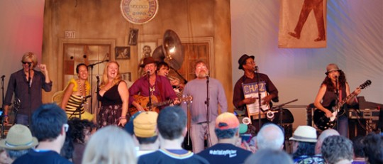 Paul Sanchez & The Rolling Road Show. By Mike Kobrin.