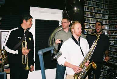 Chet Overall and the guys.