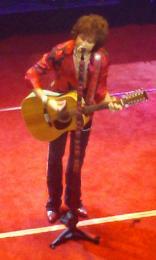 Enrique Bunbury in Houston, 2009.