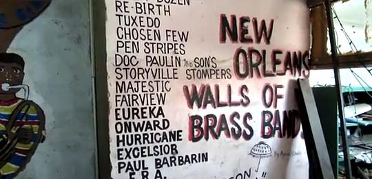 Brass Band Wall