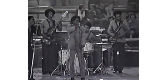 James Brown and band
