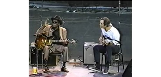 John Lee Hooker and Ry Cooder