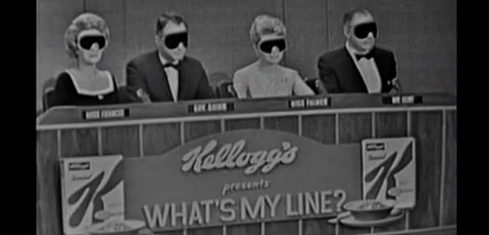 What's My Line? panel