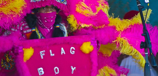 Flag Boy Glen Ross of  the Semolian Warriors