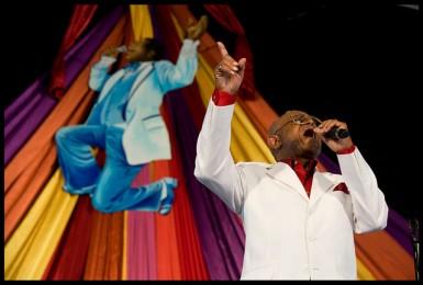 Sugarboy Crawford at Jazz Fest 2012. Photo by Ryan Hodgson-Rigsbee.