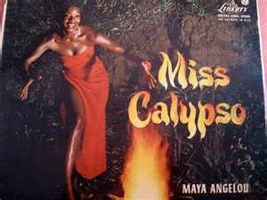 Maya Angelou LP cover