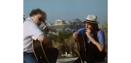 Van Morrison and Bob Dylan